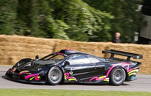 McLaren F1 GTR - The 1997 F1 GTR of Richard Smith driven by Kenny Bräck at Goodwood FoS.