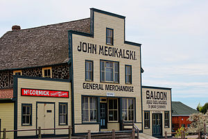 National Register of Historic Places listings in Oneida County, Wisconsin - Image: Mecikalski General Store, Saloon, and Boardinghouse