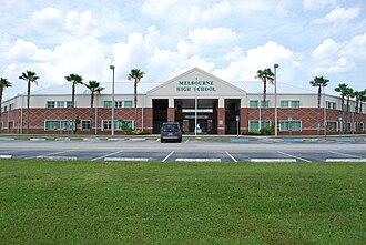 Melbourne High School (Melbourne, Florida) - Image: Melbourne High School (Florida)