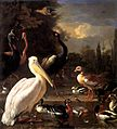 Melchior d'Hondecoeter - The Floating Feather - WGA11641.jpg