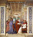 Melozzo da Forlì - Foundation of the Library - WGA14779.jpg