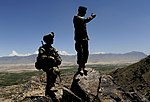 Members of the 439th Air Expeditionary Advisory Sq and Afghan Air Force patrol outside Kabul 2.jpg