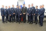 Members of the New York Air National Guard's 106th Rescue Wing get presidential recognition from Slovenia for April 24th international rescue mission 2017.jpg