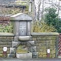 Memorial drinking fountain, Stocks Lane, Sowerby - geograph.org.uk - 1201189.jpg