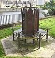 Memorial seating, Ayr Auld Kirk, South Ayrshire.jpg