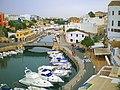 Menorca. El puerto de Ciutadella visto desde el mirador de la Plaza del Borne - panoramio.jpg