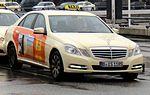 Mercedes-Benz E-Class taxicab (B IS 1185).JPG
