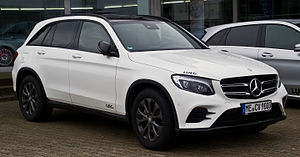 HICOM Automotive Manufacturers (Malaysia) - Image: Mercedes Benz GLC 220 d 4MATIC AMG Line (X 253) – Frontansicht, 13. Februar 2016, Velbert