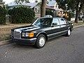 Mercedes Benz 420 SEL Taxi - Flickr - dave 7.jpg