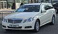 "Mercedes E 200 CDI BlueEFFICIENCY T-Modell ""Das Taxi"" (S212) front 20100821.jpg"
