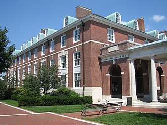Zanvyl Krieger School of Arts and Sciences - Mergenthaler Hall, home of the economics, sociology, art history, and political science departments