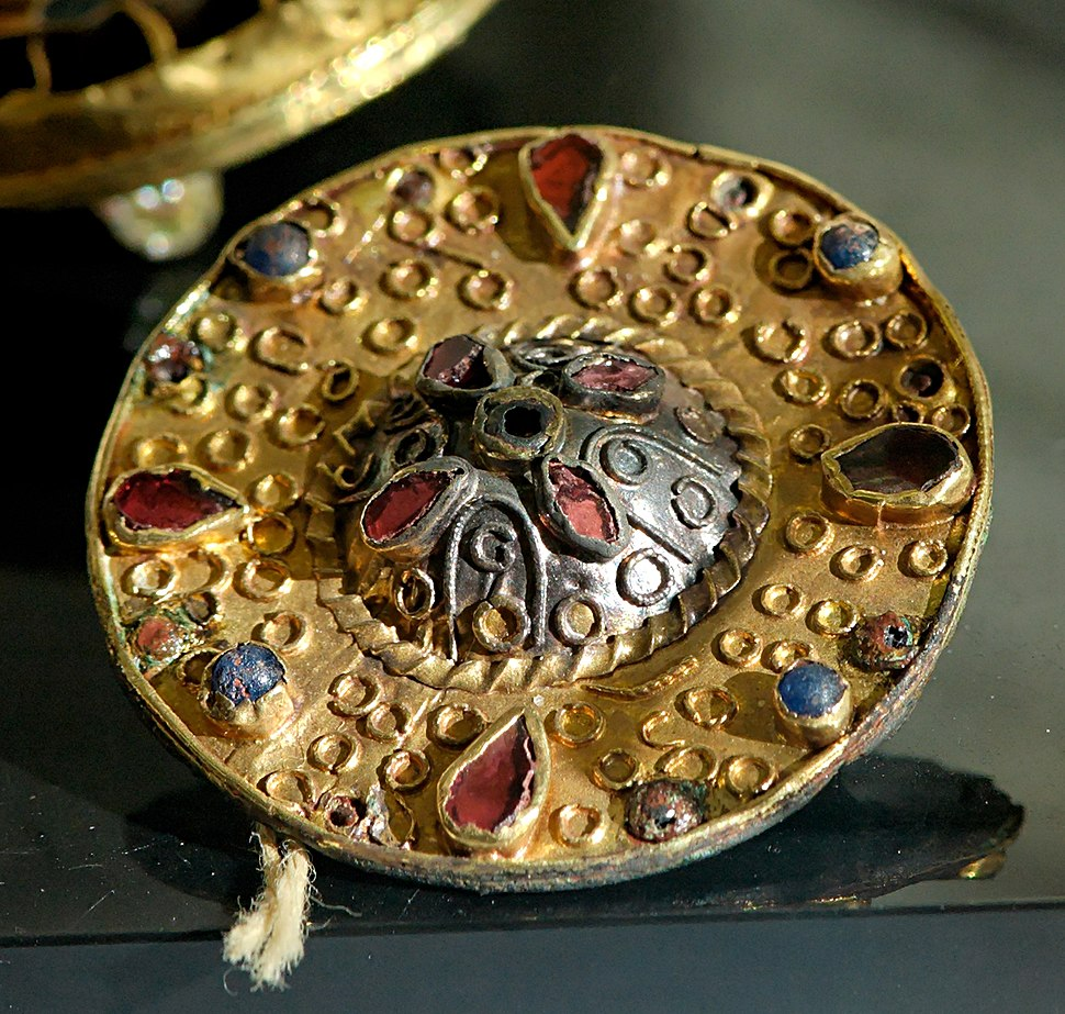 Merovingian fibula CdM