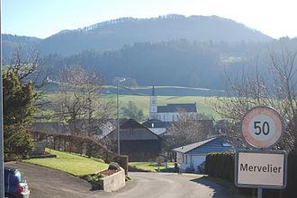 Mervelier - Mervelier village
