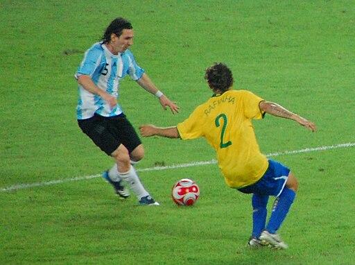lionel messi argentina vs brazil olympics