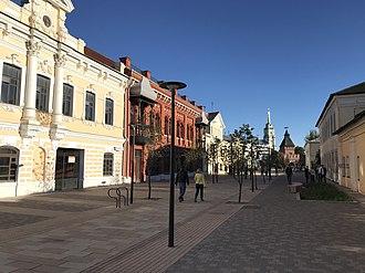 Tula, Russia - Metallistov Street