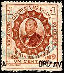 Mexico 1879 documentary revenue 63 Orizava.jpg