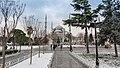 Mezquita Azul en un día nevado, Estambul (40930783131).jpg