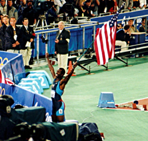 Athletics at the 1998 Goodwill Games - Michael Johnson set records to win the 400 m and relay.