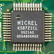 Micrel KS8721CL on mainboard of Surf@home II-7778.jpg
