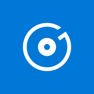 Groove Music Audio player software application