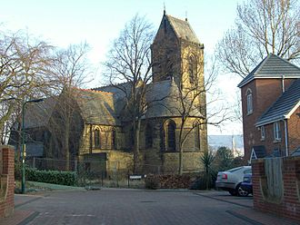 Middlewood, South Yorkshire - Middlewood church, closed and unused, stands within the new Wadsley Park estate.