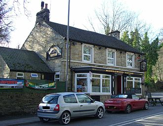Middlewood, South Yorkshire - The Middlewood Tavern dates back to at least the middle of the 19th century.