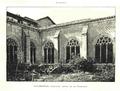 Miguel Joarizti (1887) Covarrubias, claustro ojival de la Colegiata.png