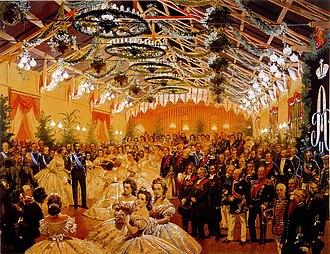 Grand Duchy of Finland - Ball in Helsinki in honour of Alexander II, 1863