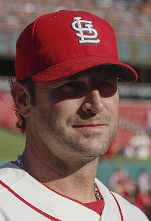 Mike Matheny - Matheny with the St. Louis Cardinals