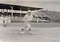 Mike Donlin, Pittsburgh Pirates outfielder, taking a practice swing.jpg