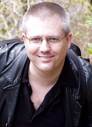 Mike Gogulski - Gogulski at Devil's Bridge in Ceredigion, Wales in 2007