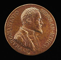 Gianfrancesco Martinioni, Milanese Physician [obverse]
