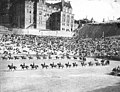 Military drill at the Stadium Bowl, Stadium High School, Tacoma, Washington, ca 1912 (WASTATE 155).jpeg