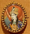 Miniature portrait of Mumtaz Mahal, Delhi, India, late 19th century, paint on ivory, Honolulu Academy of Arts.JPG