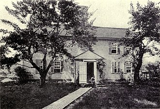 South Church, Andover, Massachusetts - The South Church parsonage