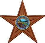 Minnesota barnstar with State Seal.png