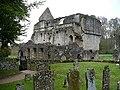 Minster Lovell Hall as seen from St Kenelm's churchyard - geograph.org.uk - 1008748.jpg