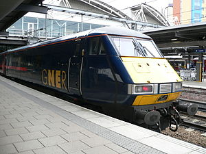 An InterCity 225 DVT, similar to the one involved in the crash