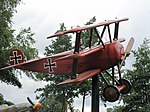 Model of Fokker Dr.I (parc Saint-Paul).jpg