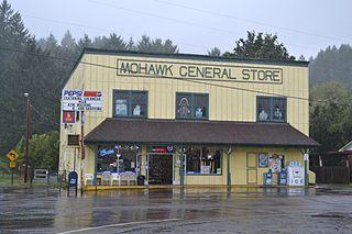 Mohawk, Oregon Unincorporated community in Oregon, United States
