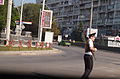 Moldova, Chisinau Police with AK-47 at intersections - Flickr - Dave Proffer.jpg