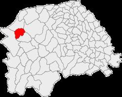 Vị trí của Moldova Sulita
