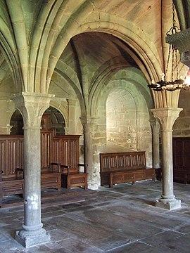 Monasterio de la Oliva - Sala Capitular 01