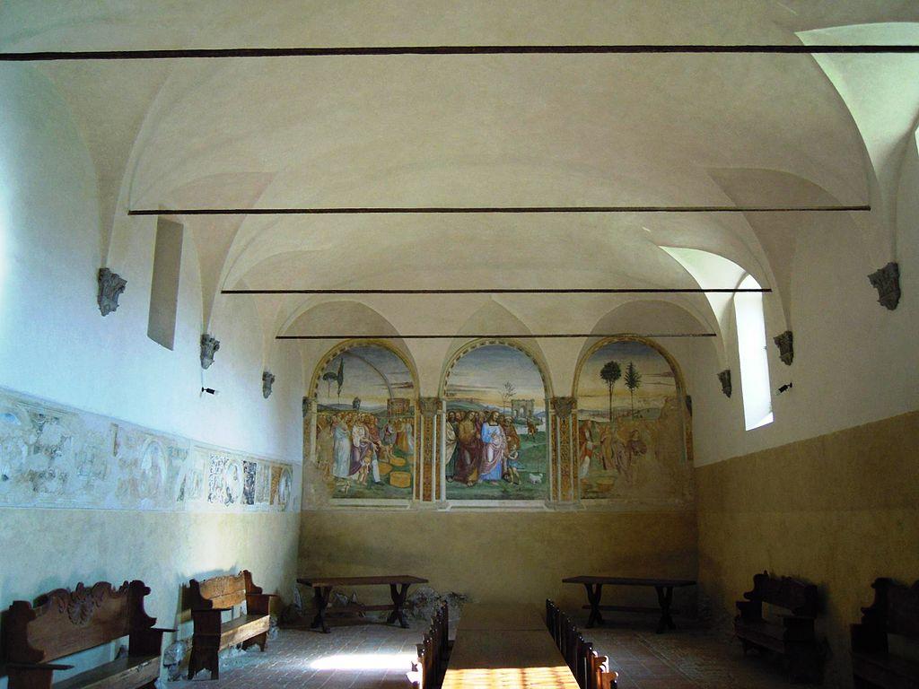 Monastero di Sant'Anna in Camprena, refettorio