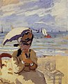 Monet - camille-sitting-on-the-beach-at-trouville-1871.jpg