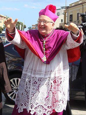 Roman Catholic Archdiocese of Reggio Calabria-Bova - Archbishop Morosini
