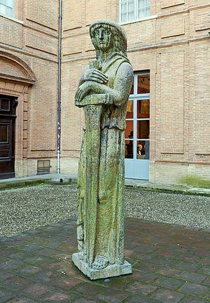 Musée Ingres - Image: Montauban La Victoire de Hartmannwillerkopf Bourdelle