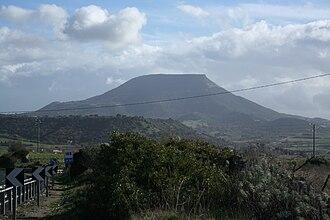 Monte Santo (Siligo) - Image: Monte Santu Siligo Sardinia