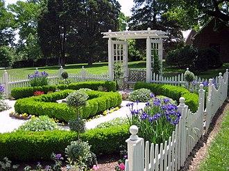 Montpelier Mansion (Laurel, Maryland) - Image: Montpelier Gardens 13