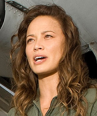 Moon Bloodgood - Bloodgood during publicity for Terminator Salvation, July 18, 2008